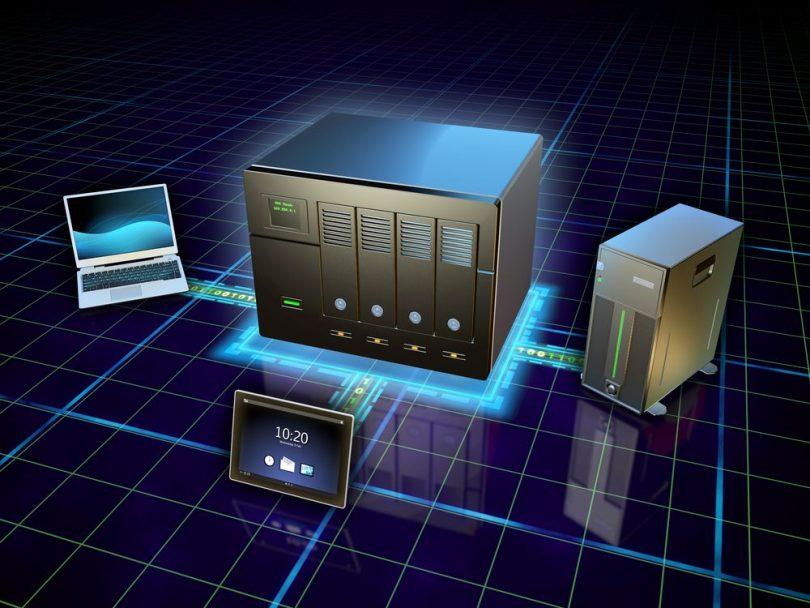 servidor de rede NAS